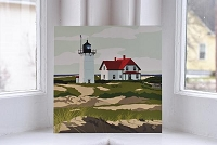 Race Point Lighthouse - 8x8 Print
