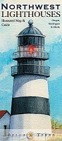 Northwest Lighthouses: Illustrated Map & Guide