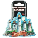 Lighthouses of Maine Sticker