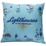 Lighthouses of the Northeast Pillow