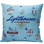 Lighthouses of the Northwest Pillow