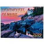 Lighthouses of Maine 2019 Calendar