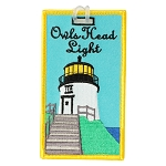 Owls Head Lighthouse Luggage Tag