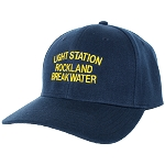 Rockland Breakwater Light Station Cap