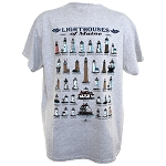 Maine Lighthouses Tee (YOUTH)