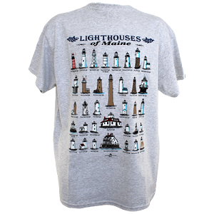 Maine Lighthouses Tee