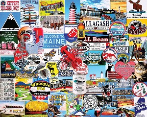I Love Maine 1000 Piece Puzzle