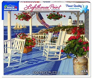 Lighthouse Point 1000 Piece Puzzle