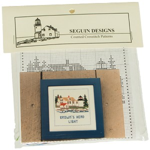 Lighthouse Counted Cross-stitch Kits - Browns Head Light