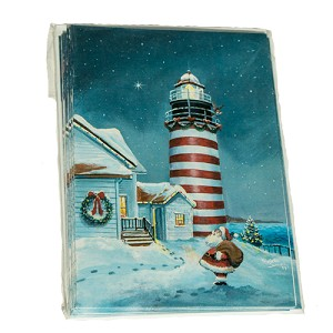 West Quoddy Lighthouse Christmas Cards