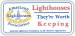 Lighthouses Worth Keeping Car Magnet