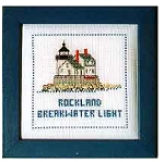 Lighthouse Counted Cross-stitch Kits - Rockland Breakwater