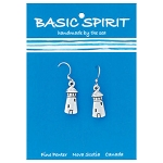 Pewter Lighthouse Earrings