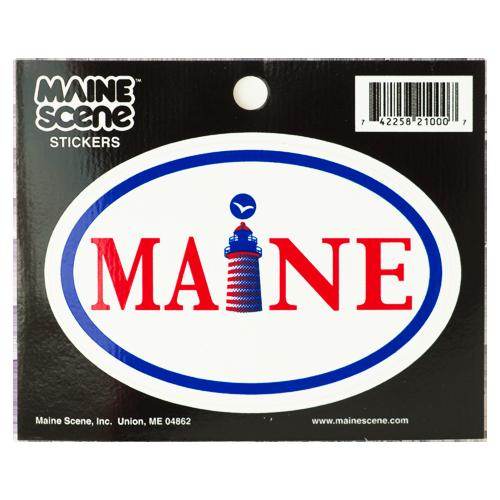 Maine Sticker ME 207 Decal ME Sticker