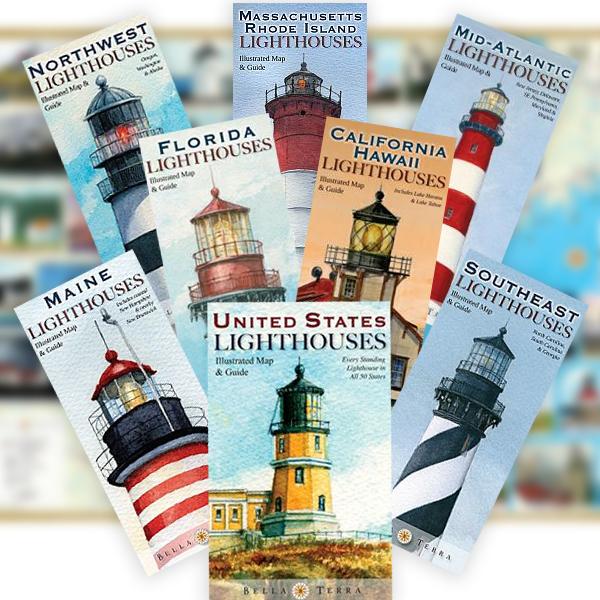 Lighthouse Map Pack - Get all 8! on massachusetts lighthouse map, georgia lighthouse map, bay of fundy lighthouse map, michigan lighthouse map, nc lighthouse map, washington lighthouse map, scituate lighthouse map, sullivan's island lighthouse map, mount desert island acadia national park map, canada lighthouse map, martha's vineyard lighthouse map, ontario lighthouse map, maryland lighthouse map, oahu lighthouse map, nova scotia lighthouses map, lighthouse friends map, maine tourist attractions, rhode island lighthouse map, maine coast lighthouses, seattle lighthouse map,