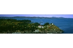 Owls Head Lighthouse Panoramic Print