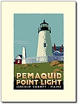 Pemaquid Point Lighthouse - 18x24 Limited Edition Print