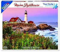Maine Lighthouse <br>1000 Piece Puzzle