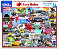 I Love Maine <br>1000 Piece Puzzle