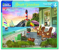 Beach Vacation <br>1000 Piece Puzzle