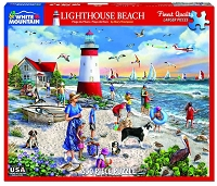 Lighthouse Beach <br>550 Piece Puzzle