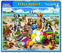 Beach Buddies <br>550 Piece Puzzle