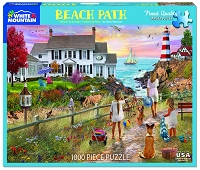 Beach Path <br>1000 Piece Puzzle