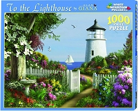 To the Lighthouse <br>1000 Piece Puzzle