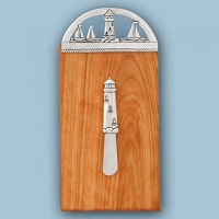 Lighthouse Mini Board w/ Sm. Lighthouse Pate Knife
