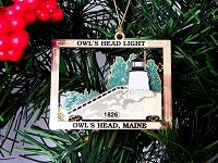 Owls Head Lighthouse Ornament