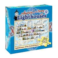 America's Story Jigsaw Puzzle - Lighthouses of the United States