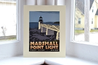 Marshall Point Lighthouse <br> 8