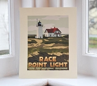 Race Point Lighthouse - 8x10 Print