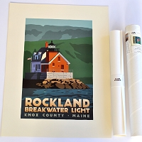 Rockland Breakwater Lighthouse <br> 18