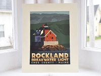 Rockland Breakwater Lighthouse <br> 8