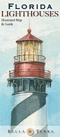 Florida Lighthouses Illustrated Map & Guide