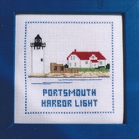 Lighthouse Counted Cross-stitch Kits - Portsmouth Harbor Light