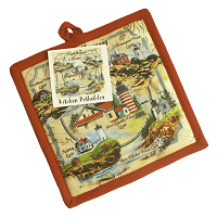 Lighthouses of Maine Potholder