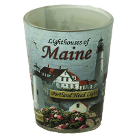 Lighthouses of Maine Shotglass