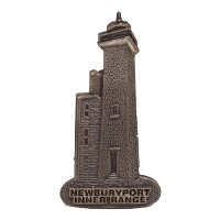 Newburyport Inner Range Lighthouse Pin