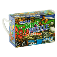Maine Kid's Puzzle <br>24 Piece