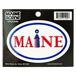 Small Maine Sticker