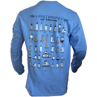 Lighthouses of Maine Long Sleeve