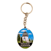 Owls Head Light Keychain