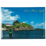Owls Head Lighthouse Magnet