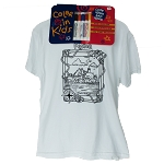 Owls Head Light Color In Kids Tee