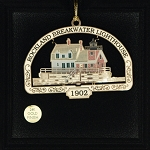 Rockland Breakwater Lighthouse Ornament