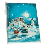 Wood Island Lighthouse Christmas Cards