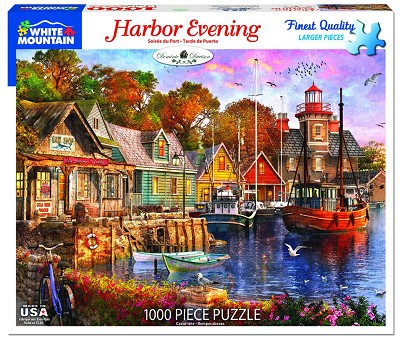Harbor Evening <br>1000 Piece Puzzle