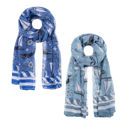 Sailboat Scarves